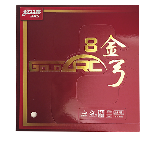 DHS Gold-Arc 8 Table Tennis Rubber