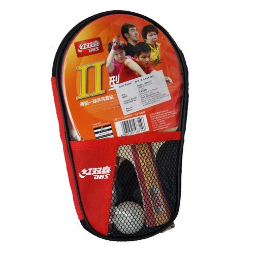 DHS Type II Table Tennis Bat Set