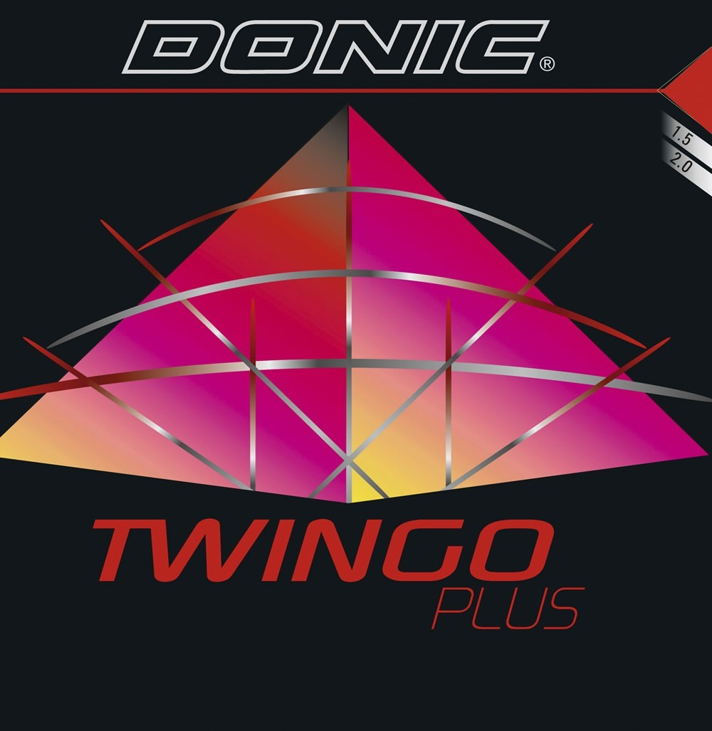 Donic Twingo Plus Table Tennis Rubber.