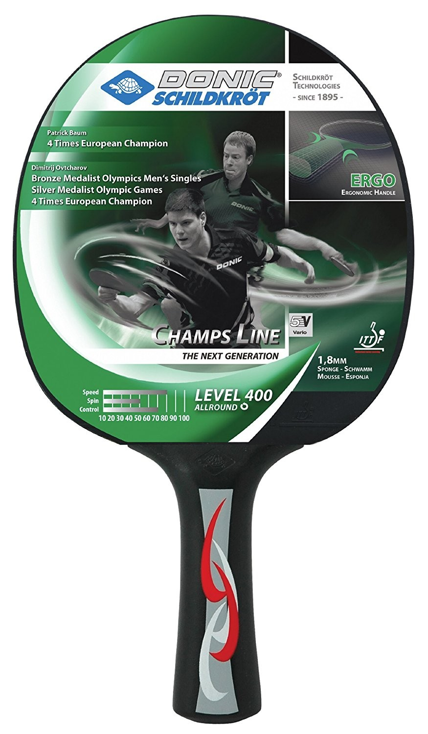 Donic Young Champ 400 Table Tennis Bat