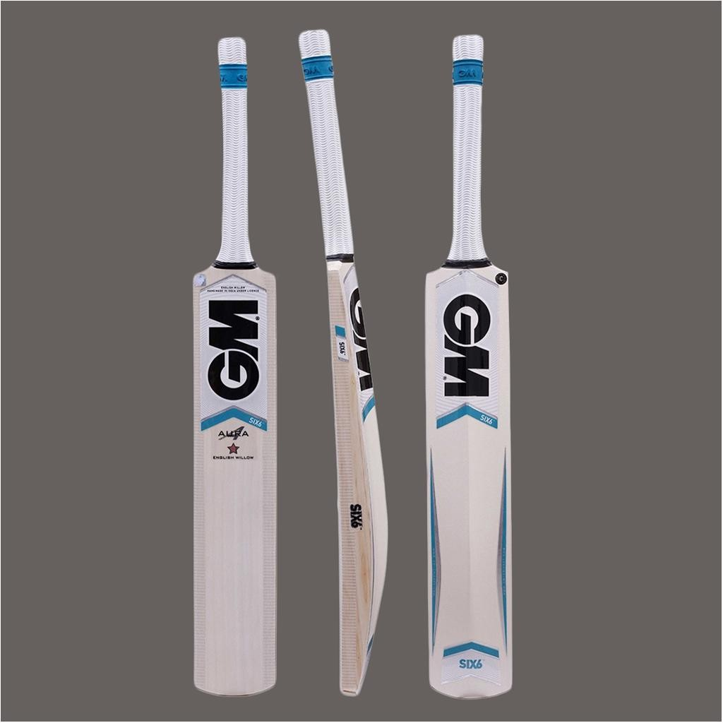 GM Six6 Aura English Willow Cricket Bat