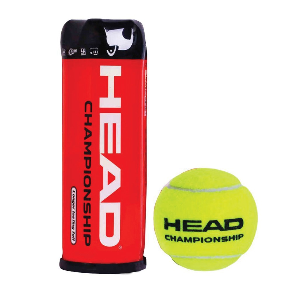 Head Championship Tennis Ball (3 Balls Per Can)