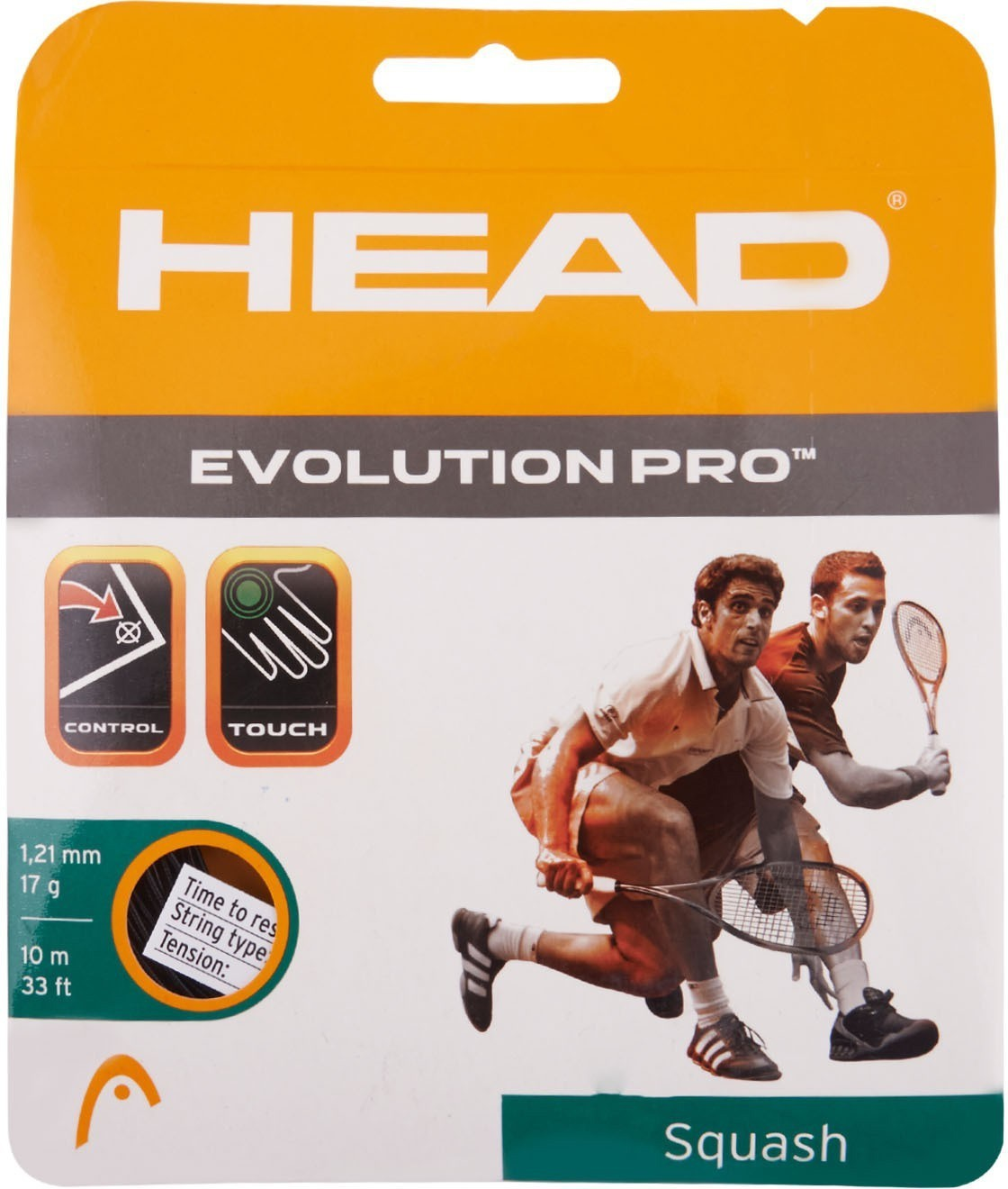 Head Evolution Pro Squash String 17 L