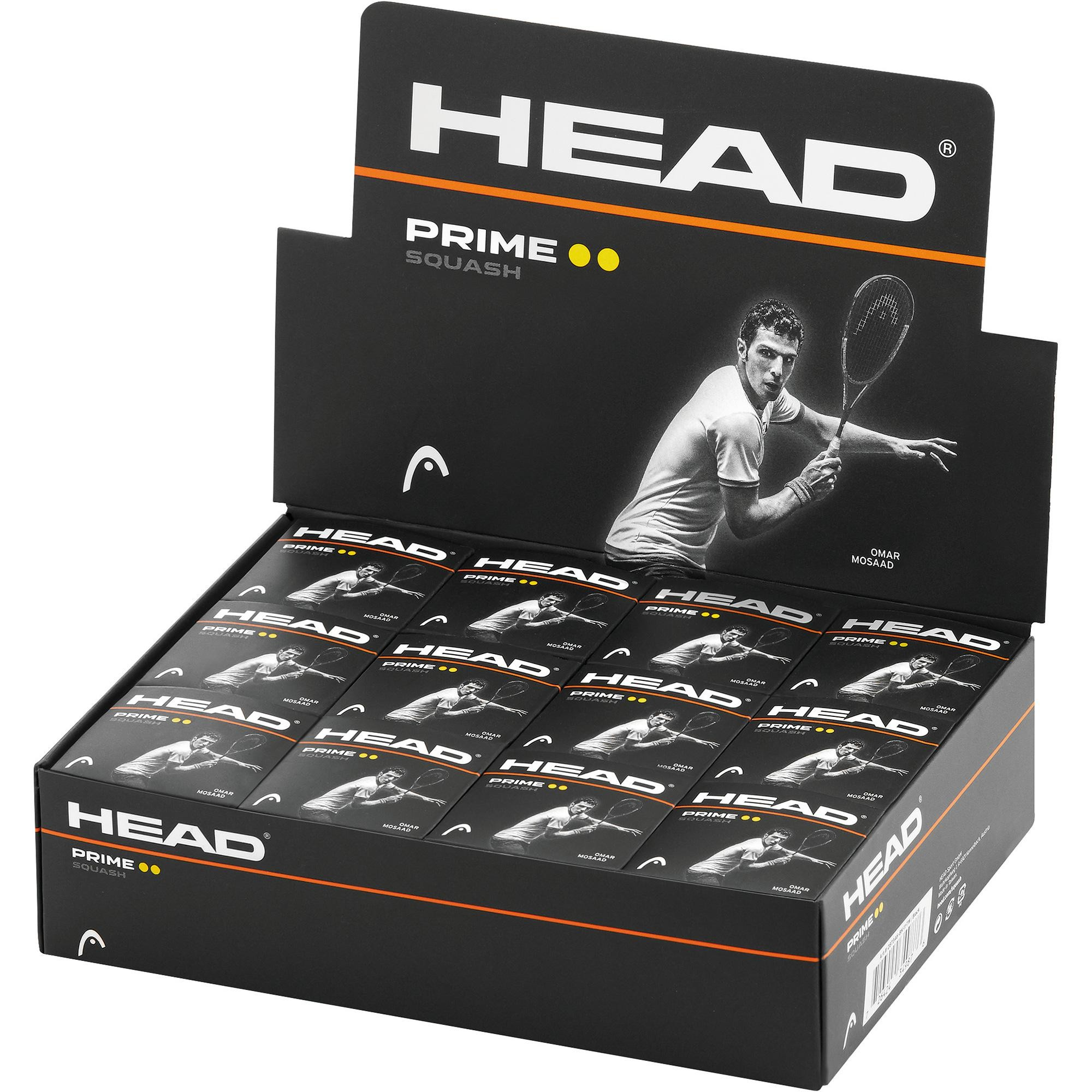 Head Prime Double Dot Squash Ball