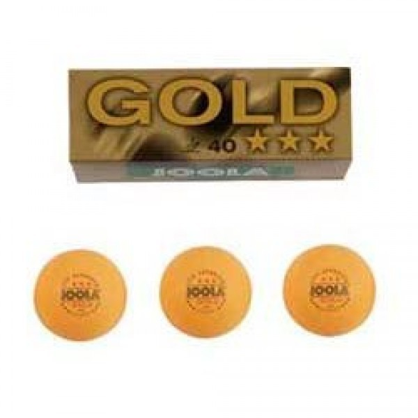 Joola Super orange gold star TT ball