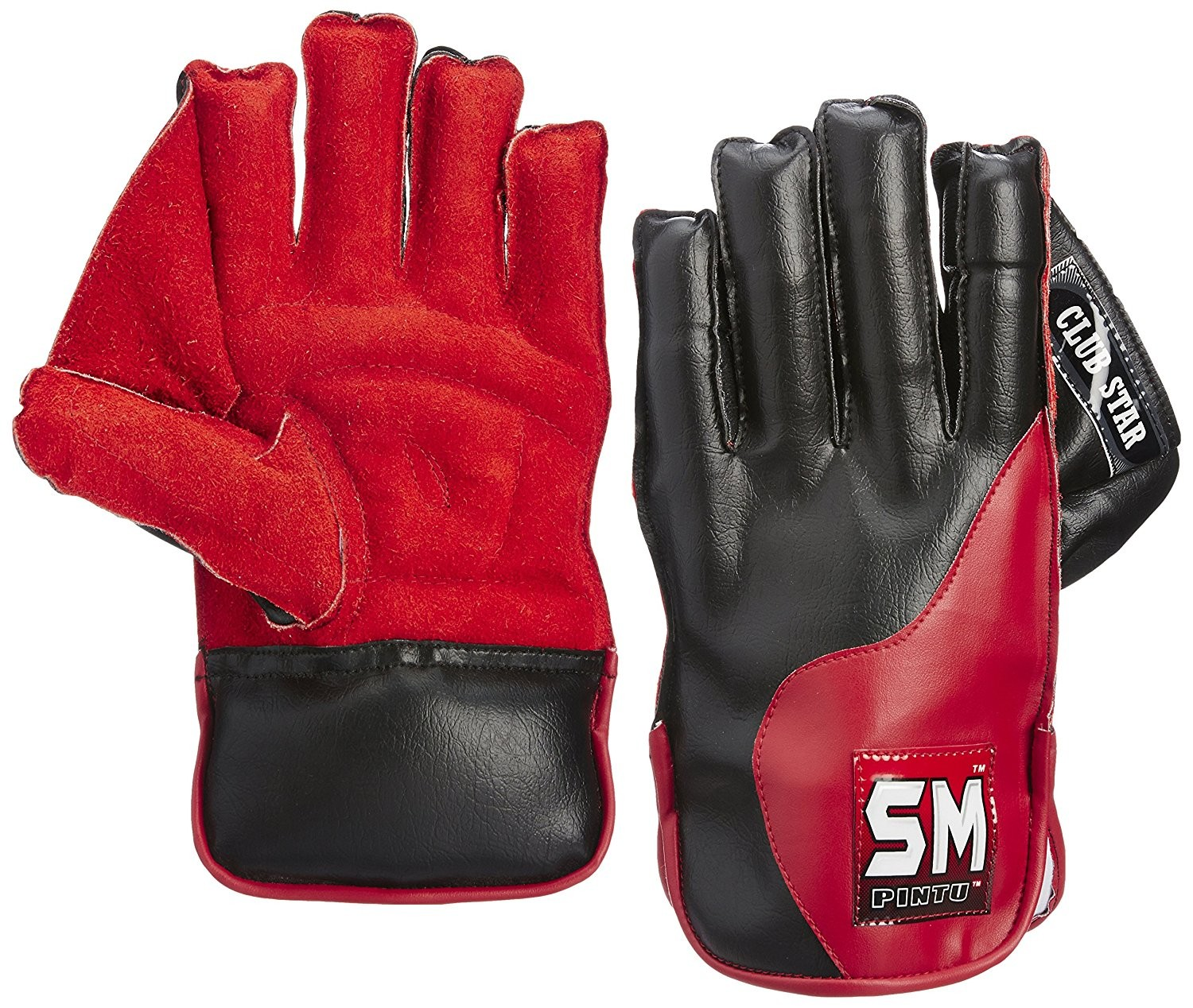SM Club Star Wicket Keeping Gloves