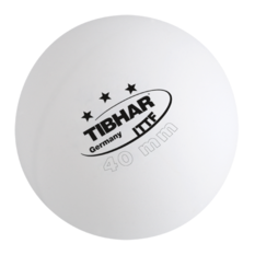 Tibhar 3 Star Pack of 3 Table Tennis Ball