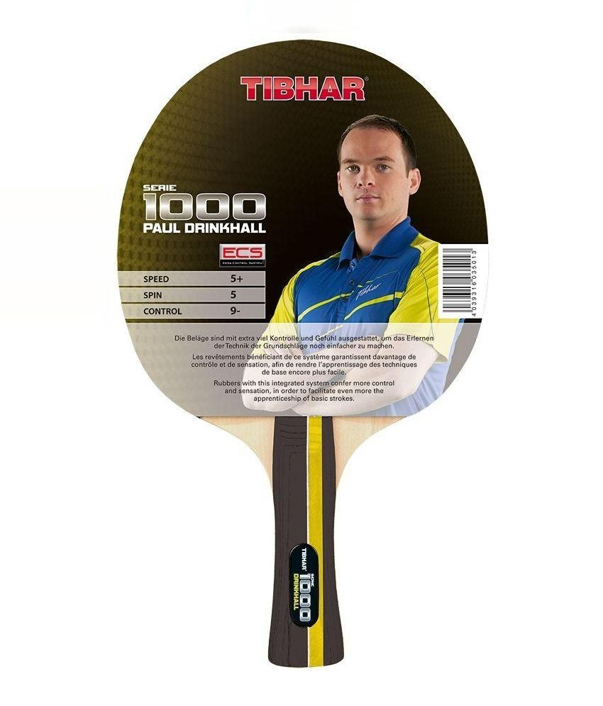 Tibhar Drinkhall 1000 Table Tennis Bat