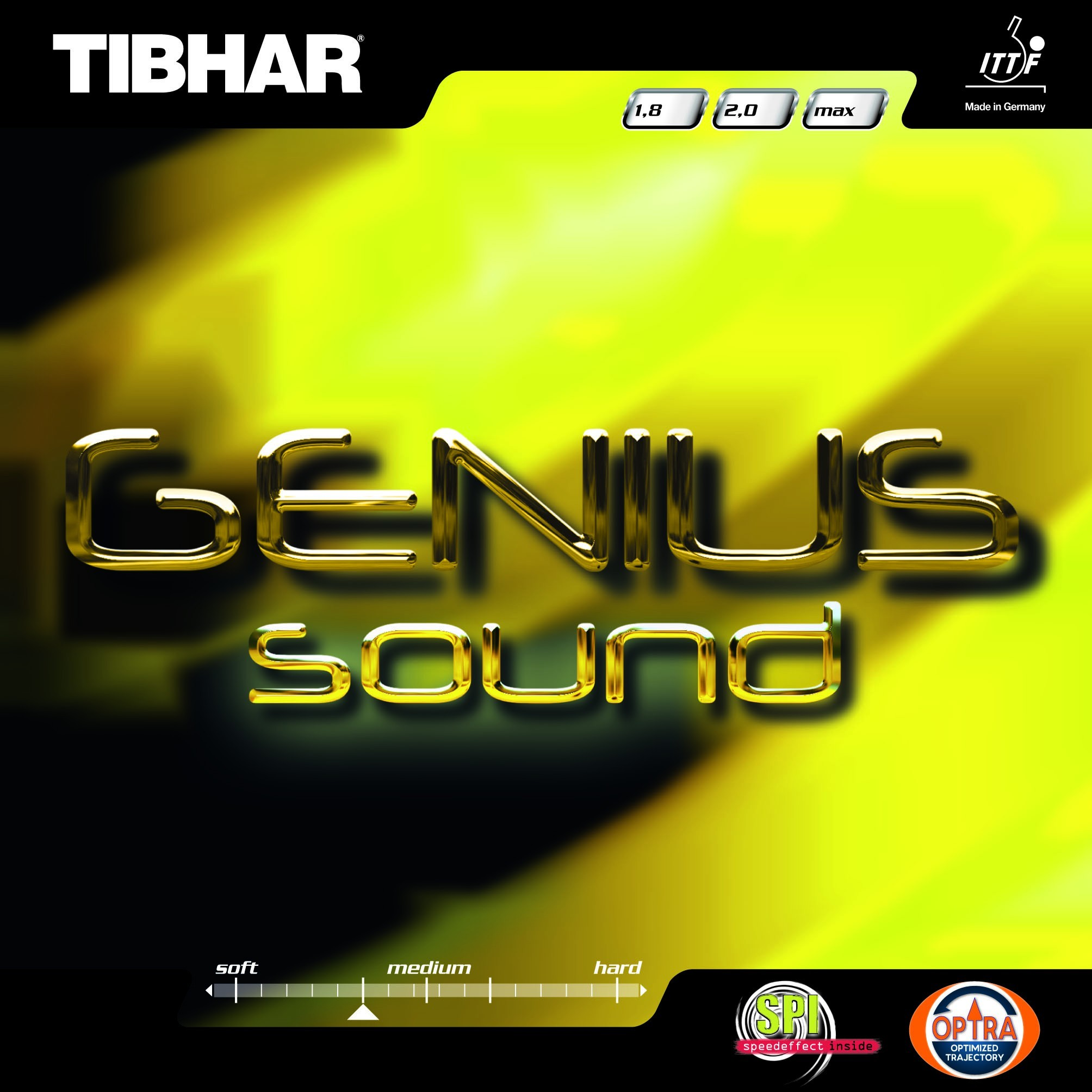 Tibhar Genius Sound Table Tennis Rubber