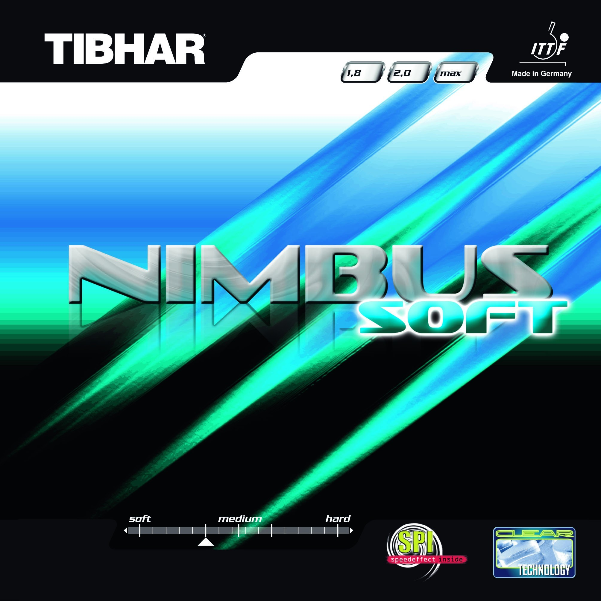 Tibhar Nimbus Soft Table Tennis Rubber