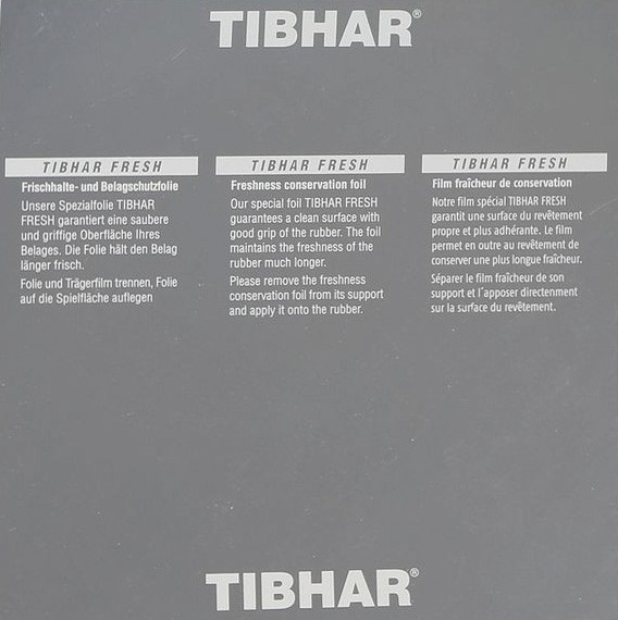 Tibhar Rubber Protection Sheet Fresh