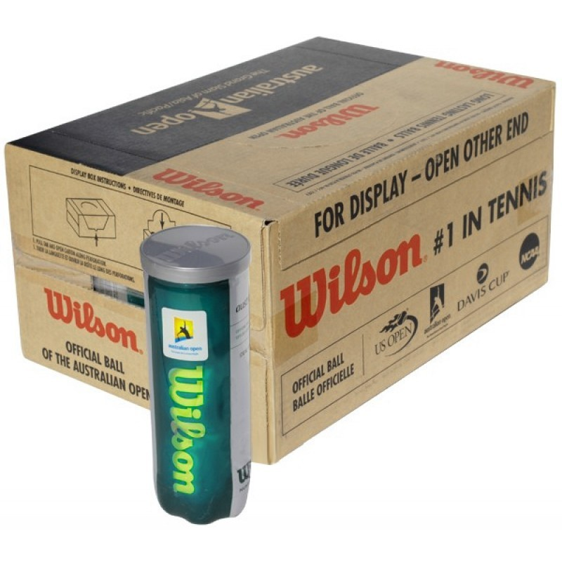Wilson Australian Open Tennis Balls (Set of 24 Cans)