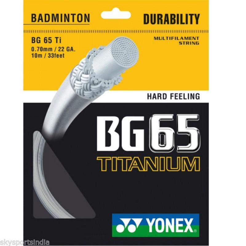 Yonex BG 65 Titanium Badminton String
