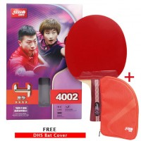 DHS R4002 Table Tennis Bat + Free DHS Bat Cover