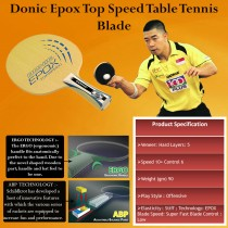 Donic Epox Top Speed Table Tennis Blade