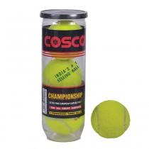 Cosco Championship Tennis Ball (Per can of 3 Balls)