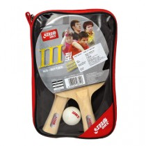 DHS Type III Table Tennis Bat Set