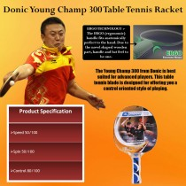 Donic Young Champ 300 Table Tennis Bat