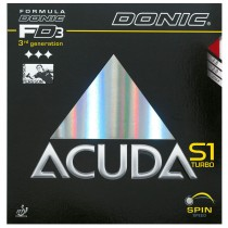 Donic Accuda S1 Turbo Table Tennis Rubber