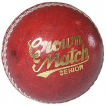 GM Crown Match Leather Cricket Ball