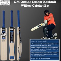 GM Octane Striker Kashmir Willow Cricket Bat