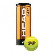 Head ATP Golden Tennis Balls (3 Balls Per Can)