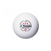 Nittaku 3 Star Premium 40+ Table Tennis Balls