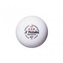 Nittaku 3 Star Premium 40+ Table Tennis Balls