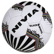Nivia Dynamic Black & White Football