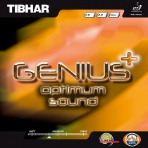 Tibhar Genius+ Optimum Sound Table Tennis Rubber