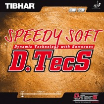 Tibhar Speedy Soft D.Techs Table Tennis Rubber