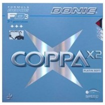 Donic Coppa X2 Platin Table Tennis Rubber
